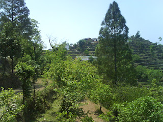 View of Khala Gaon from Dhaar