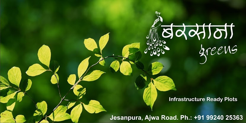 BARSANA GREENS - - INFRA READY PLOTS ON AJWA ROAD