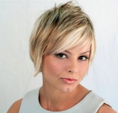 Cute short blonde haircuts hairstyles 2010