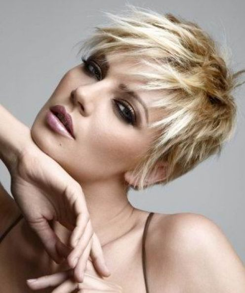 Cute short blonde haircuts hairstyles 20102