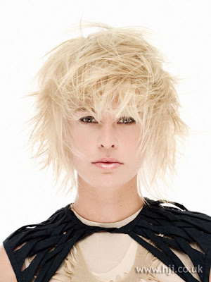 Cool messy short hairstyles are great for Oval face shape, diamond face