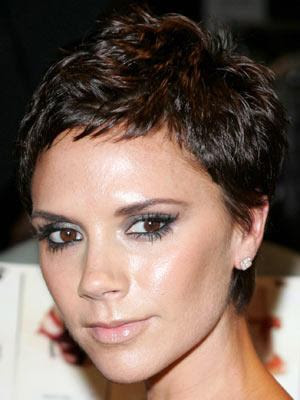 victoria beckham hair. 2010 Messy short hair cuts