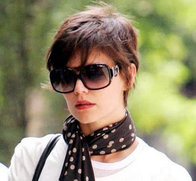 katie holmes haircut elle. Top Short Hair Pictures Spring