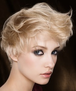 Modern Short Messy Haircuts for Women 2010