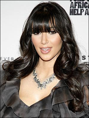 Brown and dark hair colors are very classy and also trendy in 2010.