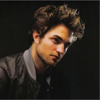 robert pattinson haircut. Robert Pattinson Messy