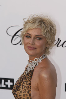 Sharon Stone - Short Curly Hairstyles