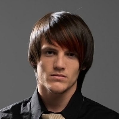 Extreme layered men haircut in medium long length