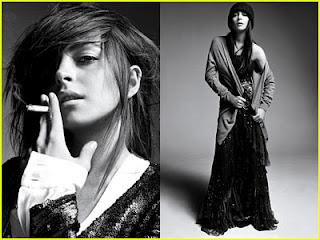Lindsay Lohan Celebrity Hairstyles 2009