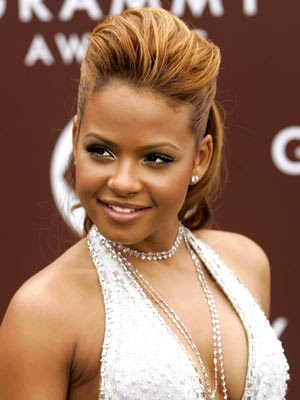 christina milian short hair