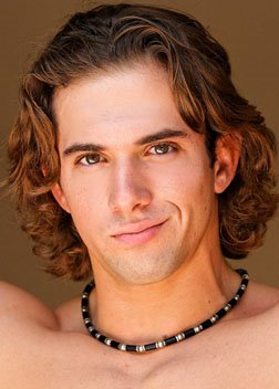sexy long curly hairstyle for men 2010