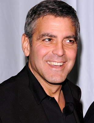 George Clooney Hairstyle - Haircut Trends 2010