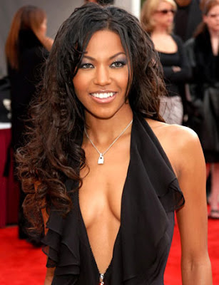 curly long hairstyles for black women