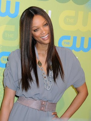 Sexy Tyra Banks Hairstyles for Summer 2009