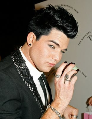 Adam Lambert Cool Mens Hairstyle
