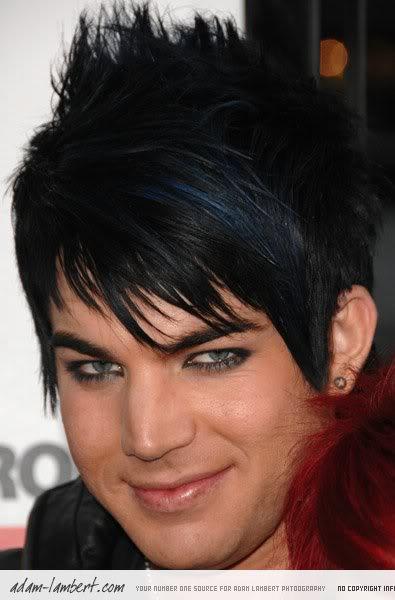 trendy men hairstyles. Adam lambert trendy hairstyle