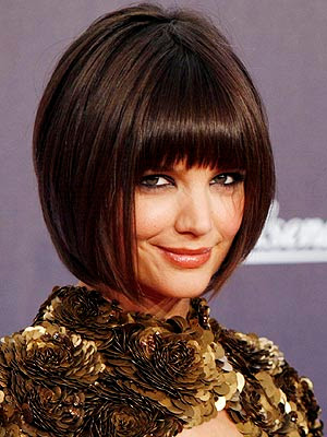 Katie Holmes Bob Haircuts