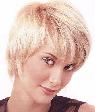 Short Hair Styles For Fine Hair And Round Face. short hair styles for fine