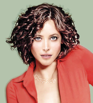 nice short curly hairstyles for women 2014