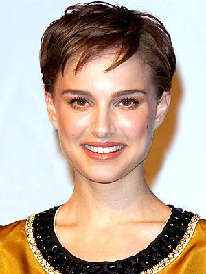 natalie portman short hair pictures