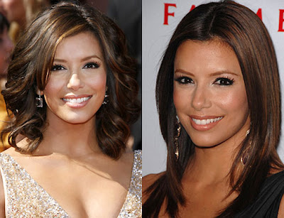 Eva Longoria wears more long hairstyles to have the most versatility in