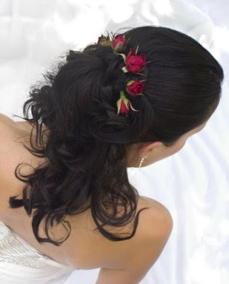 Elegant Asian Wedding hairstyles