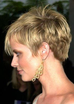 Short sexy blonde haircuts hairstyles 2010
