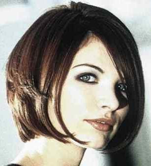 Cool modern short bob hairstyles in winter 2009 2010