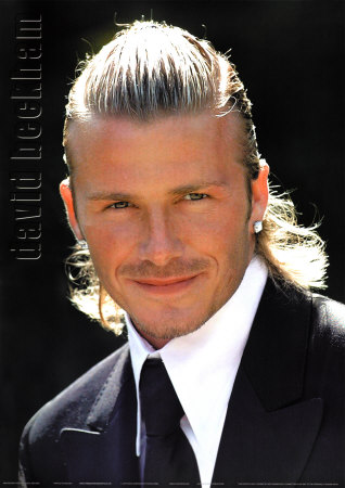 2010 David Beckham Hairstyles for Men picture Photo by Phil Cole/Getty