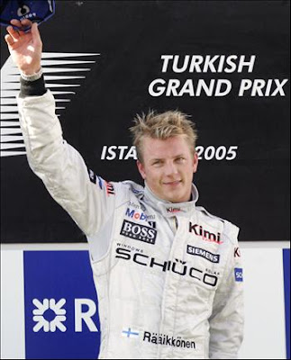 Kimi Raikkonen Men Haircut Styles for 2010