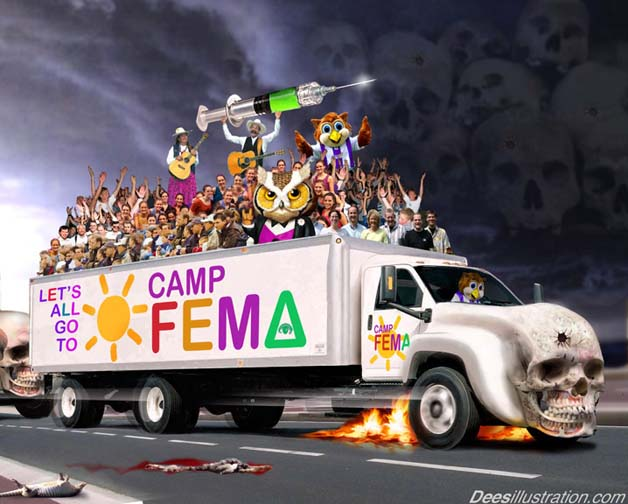fema camp conspiracy