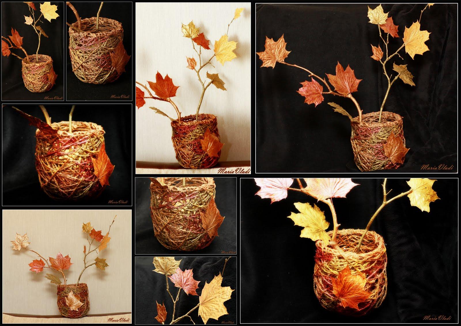 Как сделать своими руками ветку для вазы