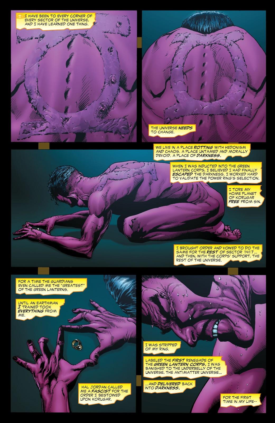 Green Lantern: The Sinestro Corps War Full #1 - English 7