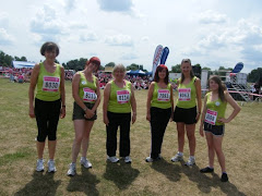 I RAN the race for life (no walking at all)