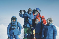 On the Summit of Mt. McKinley