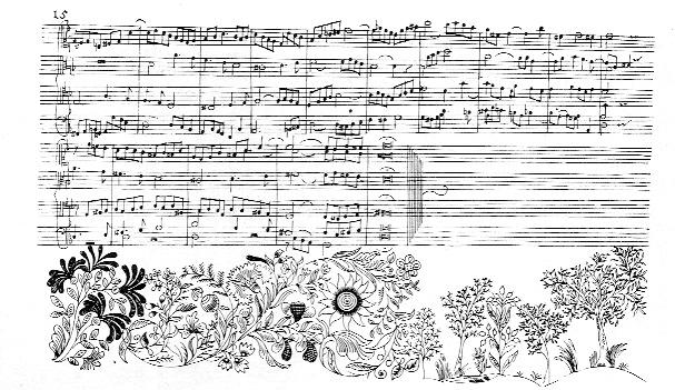 Pagina originale de l'arte della fuga