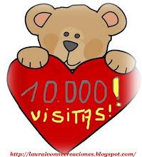 mi gran amiga laura festeja las10000 visitas!!! y nos regaló estos hermosos mimos!!!