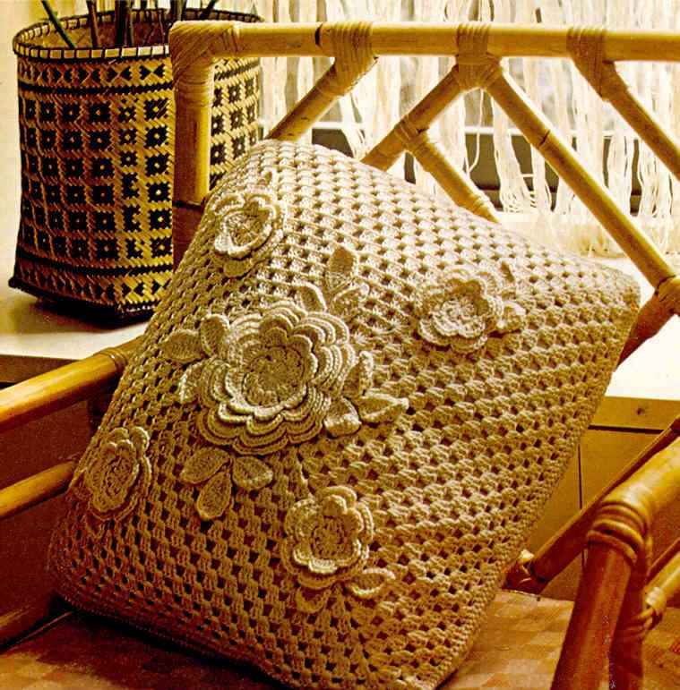 Casos y cosas de mi casa cojines tejidos a ganchillo o - Cojin de crochet ...