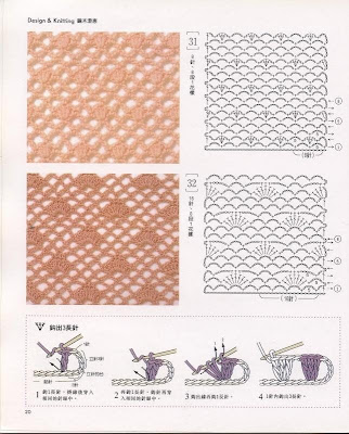 puntos de crochet. girlfriend crochet puntos de