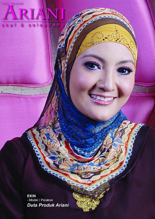 Fesyen Tudung Shawl Terkini