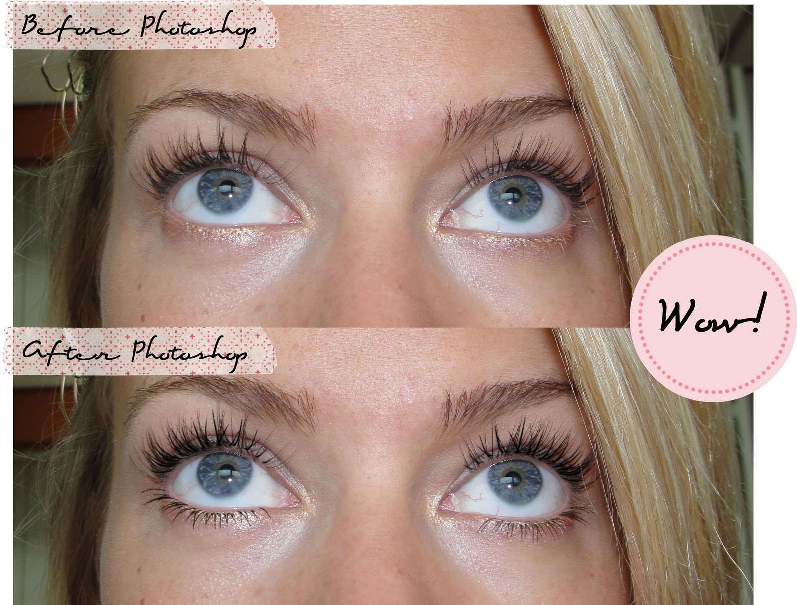 Photoshop tutorial 1 fake lashes happiness is chic photoshop tutorial 1 fake lashes baditri Choice Image