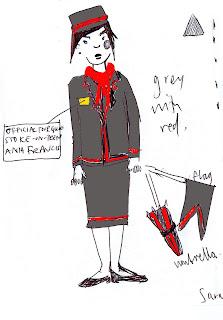 Tour guide costume