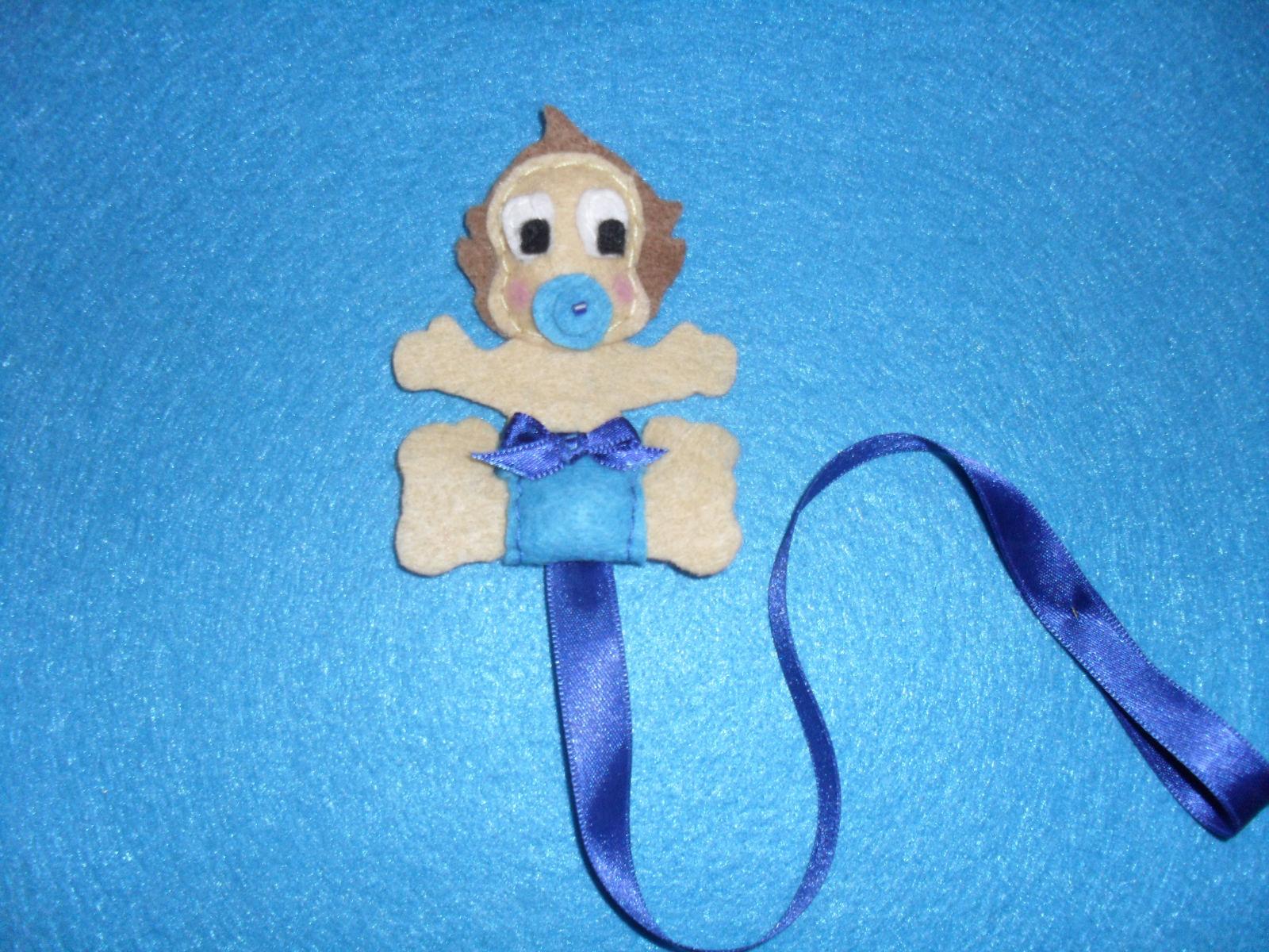 Arte En Fieltro: Chupeteros para bebés