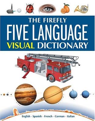 Энциклопедия в картинках на 5 языках -английский,немецкий,итальянский,испанский,французский