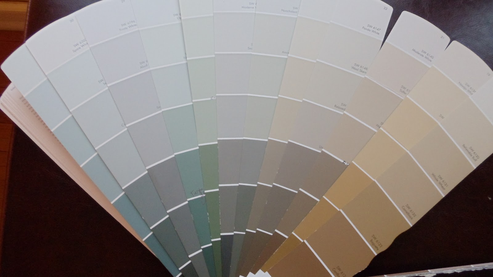 Sherwin Williams Paint Fan