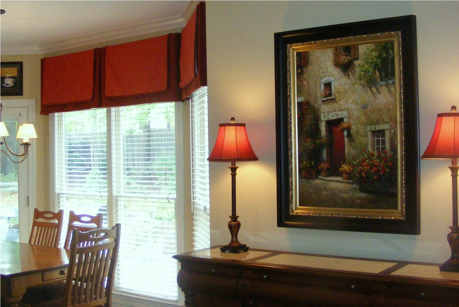 To Find Window Treatments That Make Your Windows Seem Larger, See This  Greensboro, NC Homeowneru0027s Valance!