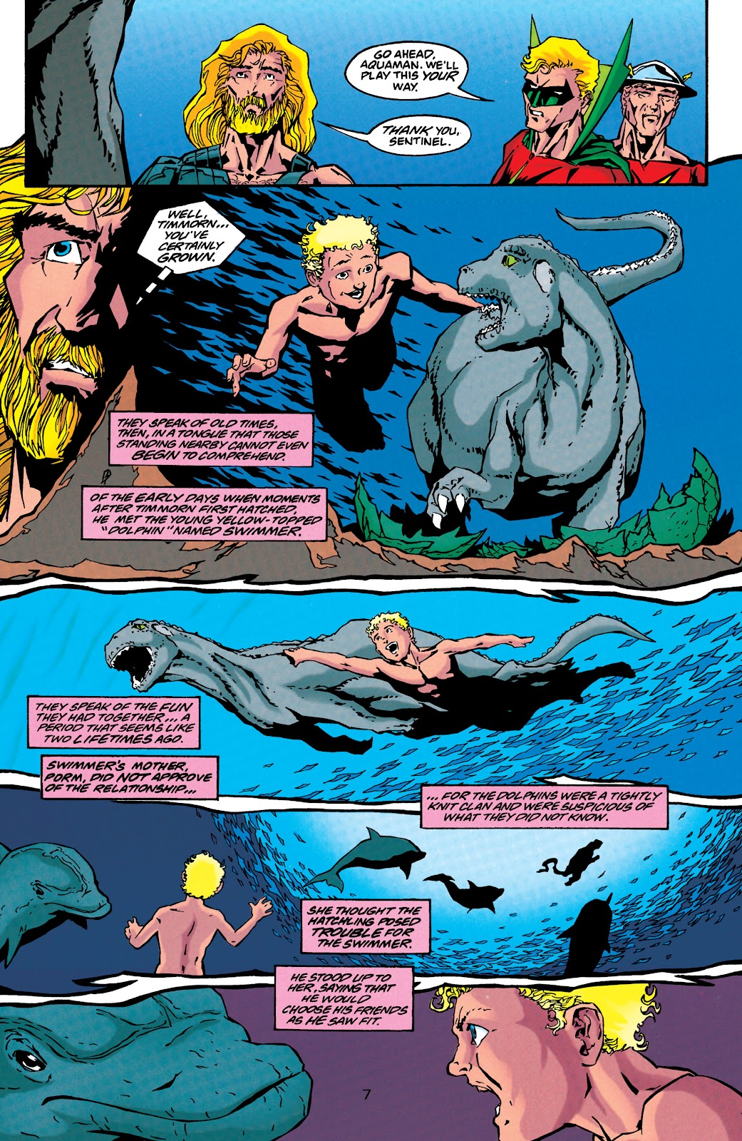 Aquaman (1994) Issue #44 #50 - English 8