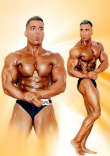 world bodybuilders pictures: handsome arab strong muscles pictures
