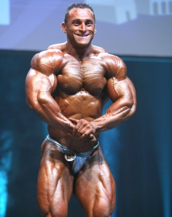 world bodybuilders pictures: hard platinum mucles john