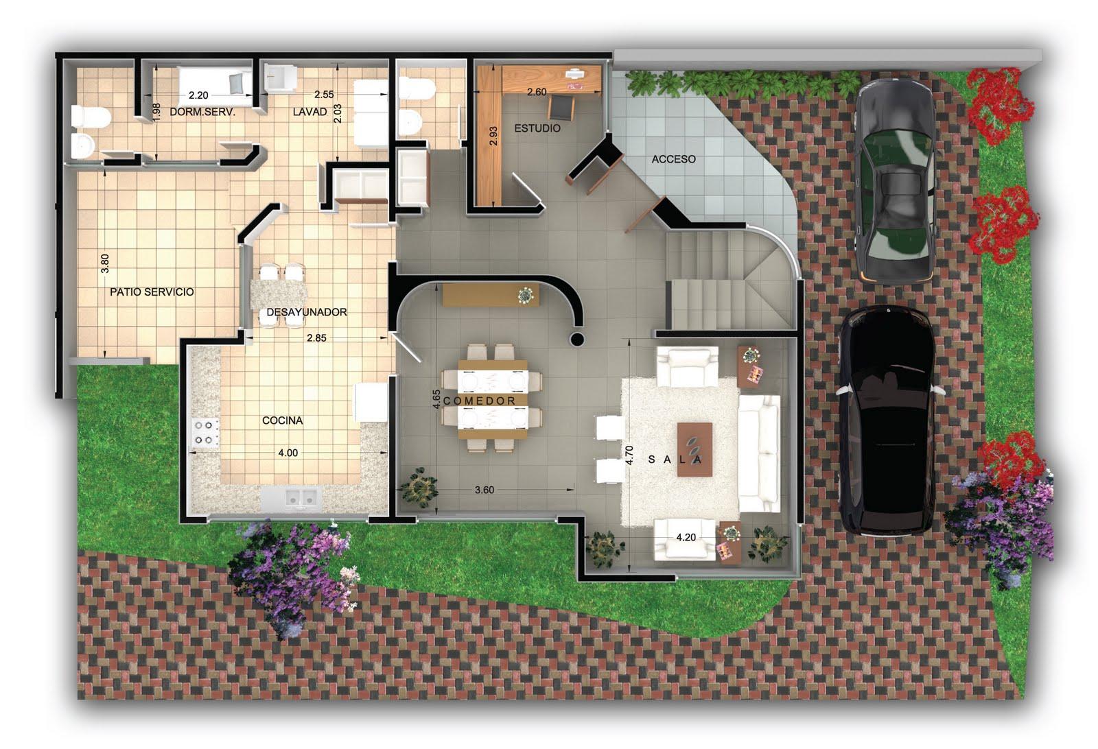 Dermezzeh planta baja casa 4 - Casas en planta baja ...